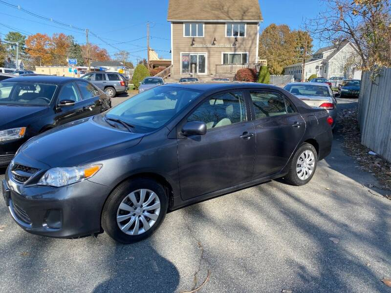 2012 Toyota Corolla for sale at Good Works Auto Sales INC in Ashland MA