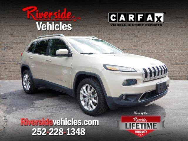 2015 Jeep Cherokee for sale at Riverside Mitsubishi(New Bern Auto Mart) in New Bern NC