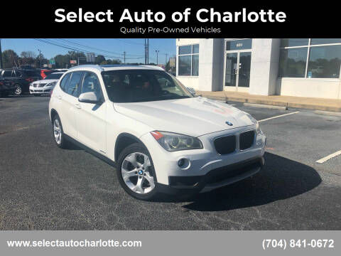 2013 BMW X1 for sale at Select Auto of Charlotte in Matthews NC