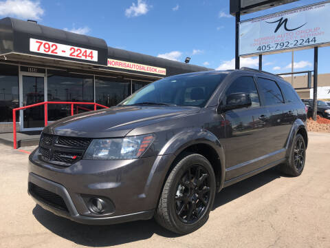 2017 Dodge Journey for sale at NORRIS AUTO SALES in Oklahoma City OK