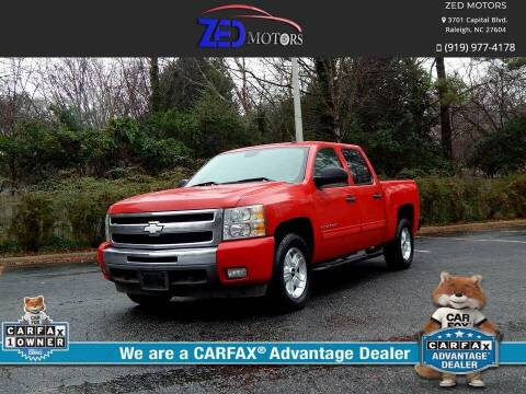 2011 Chevrolet Silverado 1500 for sale at Zed Motors in Raleigh NC