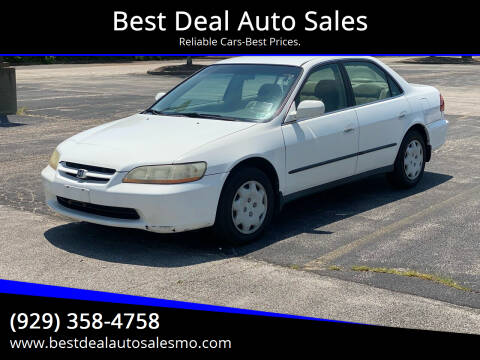 2000 Honda Accord for sale at Best Deal Auto Sales in Saint Charles MO