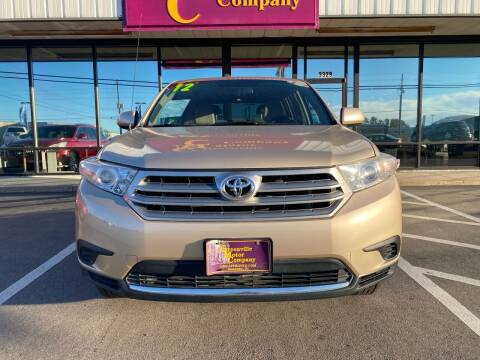 2012 Toyota Highlander for sale at Washington Motor Company in Washington NC