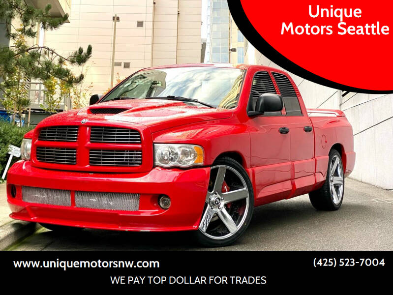 2005 Dodge Ram Pickup 1500 SRT-10 for sale at Unique Motors Seattle in Bellevue WA