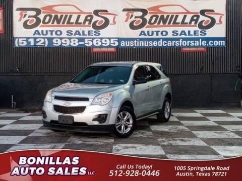 2011 Chevrolet Equinox for sale at Bonillas Auto Sales in Austin TX