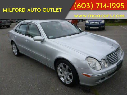 2006 Mercedes-Benz E-Class for sale at Milford Auto Outlet in Milford NH