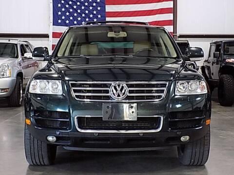 2006 Volkswagen Touareg for sale at Texas Motor Sport in Houston TX