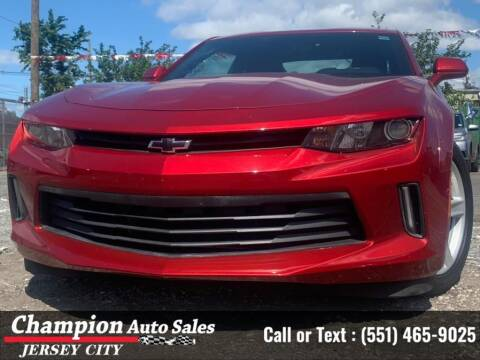 2017 Chevrolet Camaro for sale at CHAMPION AUTO SALES OF JERSEY CITY in Jersey City NJ