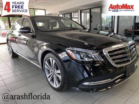 2018 Mercedes-Benz S-Class for sale at Auto Max in Hollywood FL