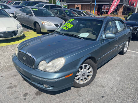 2004 Hyundai Sonata for sale at American Dream Motors in Everett WA