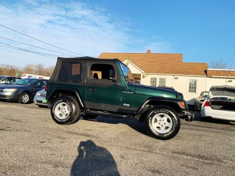 1999 Jeep Wrangler for sale at New Wave Auto of Vineland in Vineland NJ