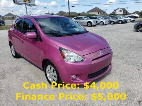 2015 Mitsubishi Mirage for sale at PREMIER MOTORS OF PEARLAND in Pearland TX