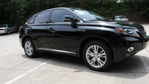 2011 Lexus RX 450h for sale at NORCROSS MOTORSPORTS in Norcross GA
