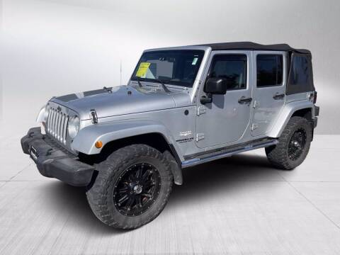 2010 Jeep Wrangler Unlimited for sale at Fitzgerald Cadillac & Chevrolet in Frederick MD