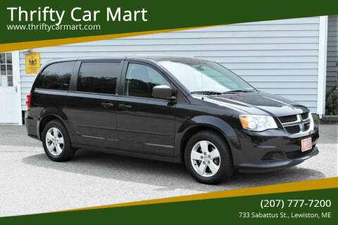 2013 Dodge Grand Caravan for sale at Thrifty Car Mart in Lewiston ME