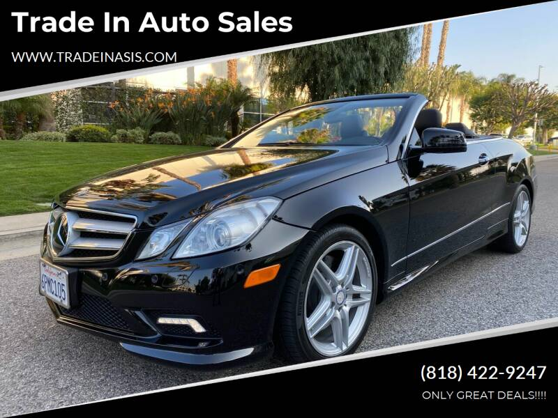 2011 Mercedes-Benz E-Class for sale at Trade In Auto Sales in Van Nuys CA