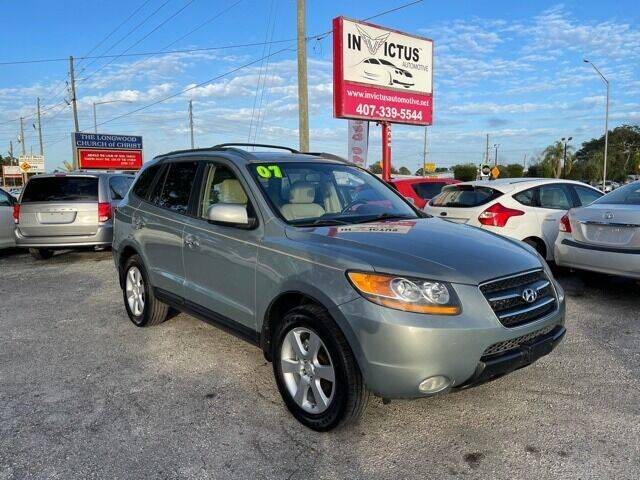 2007 Hyundai Santa Fe for sale at Invictus Automotive in Longwood FL
