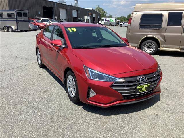 2019 Hyundai Elantra for sale at SHAKER VALLEY AUTO SALES in Enfield NH