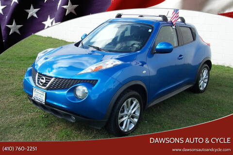 2012 Nissan JUKE for sale at Dawsons Auto & Cycle in Glen Burnie MD