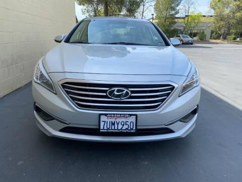 2017 Hyundai Sonata for sale at TOP QUALITY AUTO in Rancho Cordova CA