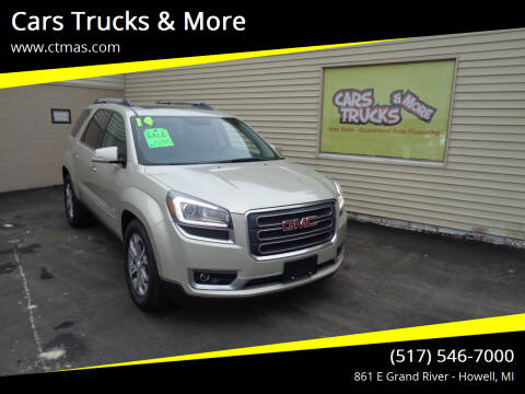 2014 GMC Acadia for sale at Cars Trucks & More in Howell MI