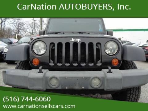 2007 Jeep Wrangler Unlimited for sale at CarNation AUTOBUYERS, Inc. in Rockville Centre NY