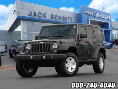 2018 Jeep Wrangler JK Unlimited for sale at Jack Schmitt Chevrolet Wood River in Wood River IL
