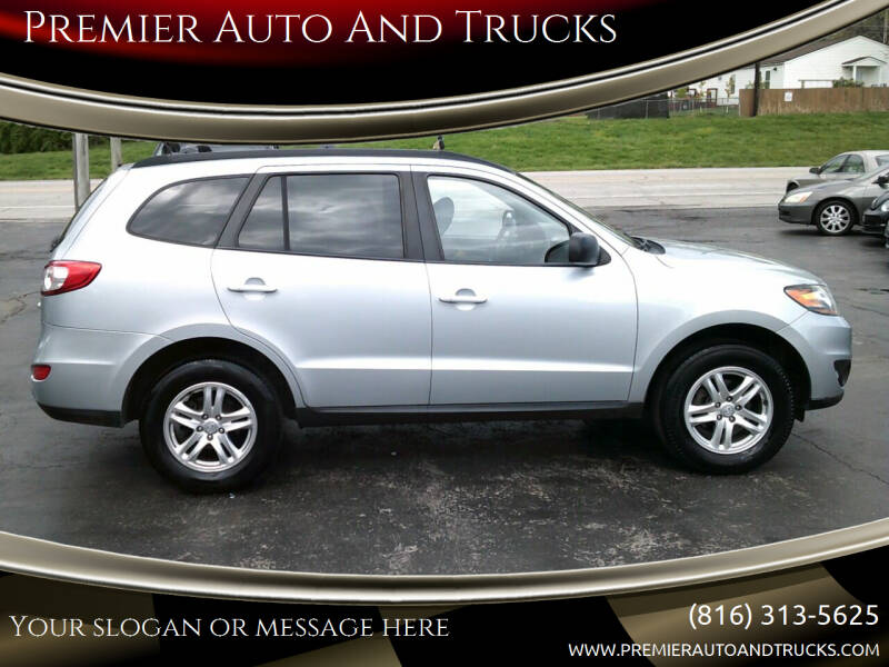2010 Hyundai Santa Fe for sale at Premier Auto And Trucks in Independence MO