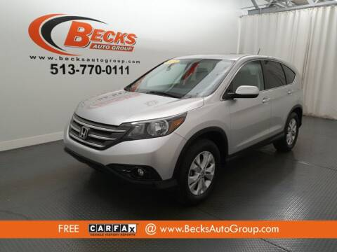 2013 Honda CR-V for sale at Becks Auto Group in Mason OH