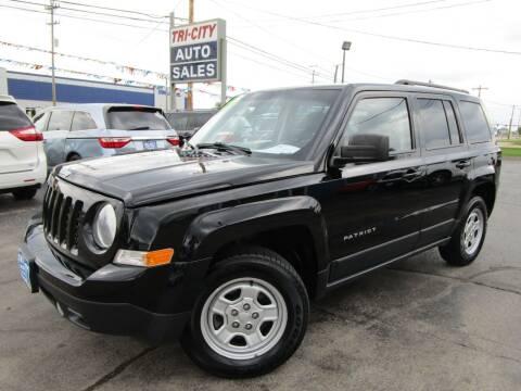 2014 Jeep Patriot for sale at TRI CITY AUTO SALES LLC in Menasha WI