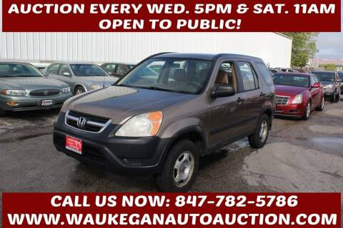 2004 Honda CR-V for sale at Waukegan Auto Auction in Waukegan IL