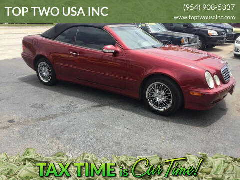 2003 Mercedes-Benz CLK for sale at TOP TWO USA INC in Oakland Park FL