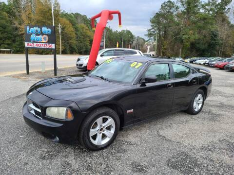 2007 Dodge Charger for sale at Let's Go Auto in Florence SC