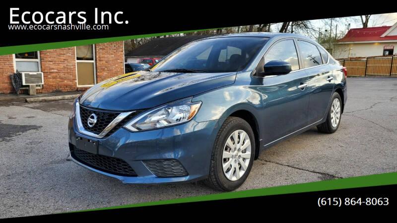 2016 Nissan Sentra for sale at Ecocars Inc. in Nashville TN