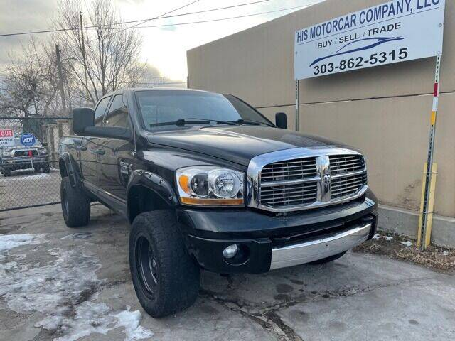 2007 Dodge Ram Pickup 2500 for sale at His Motorcar Company in Englewood CO