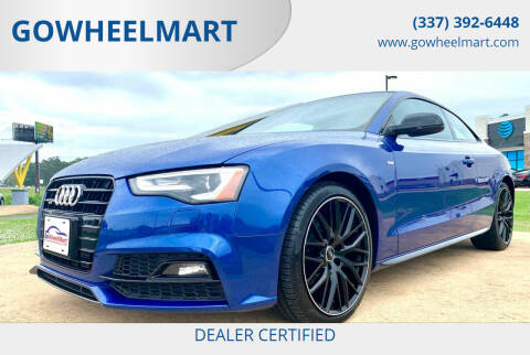 2017 Audi A5 for sale at GOWHEELMART in Leesville LA