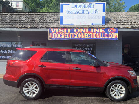 2016 Ford Explorer for sale at Auto Credit Connection LLC in Uniontown PA