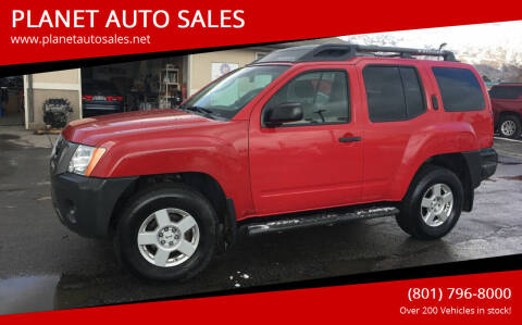 2008 Nissan Xterra for sale at PLANET AUTO SALES in Lindon UT