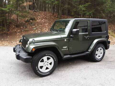 2007 Jeep Wrangler for sale at H P M Sales in Goffstown NH