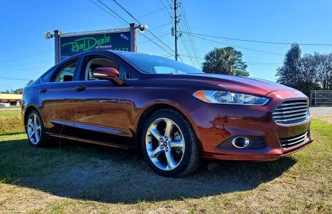 2015 Ford Fusion for sale at Real Deals of Florence, LLC in Effingham SC