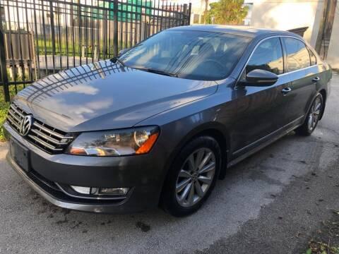 2012 Volkswagen Passat for sale at Hard Rock Motors in Hollywood FL