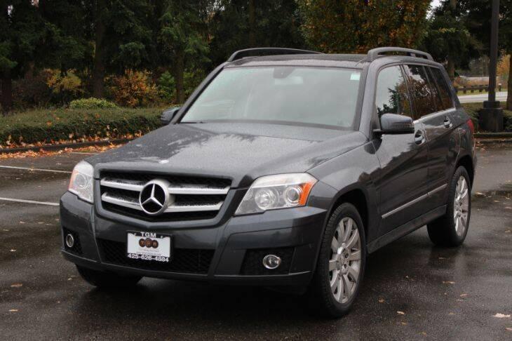 2011 Mercedes-Benz GLK for sale at Top Gear Motors in Lynnwood WA