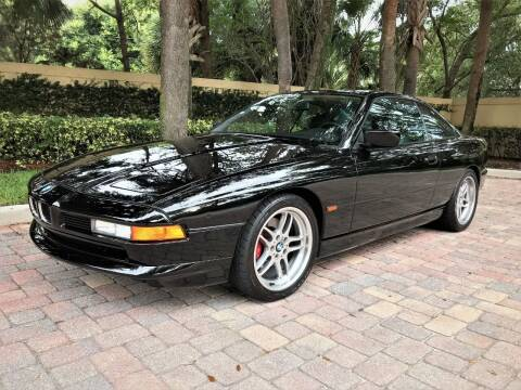 1997 BMW 8 Series for sale at DENMARK AUTO BROKERS in Riviera Beach FL