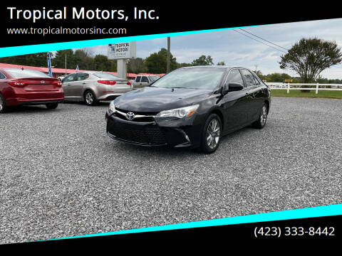 2017 Toyota Camry for sale at Tropical Motors, Inc. in Riceville TN