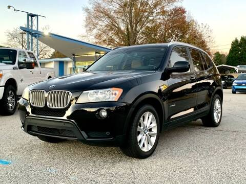 2014 BMW X3 for sale at GR Motor Company in Garner NC