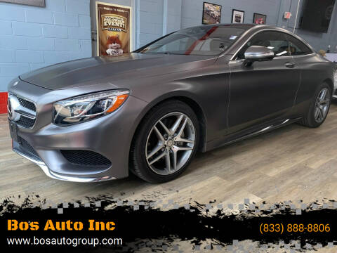 2015 Mercedes-Benz S-Class for sale at Bos Auto Inc in Quincy MA