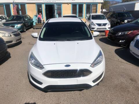 2015 Ford Focus for sale at Top Gun Auto Sales, LLC in Albuquerque NM