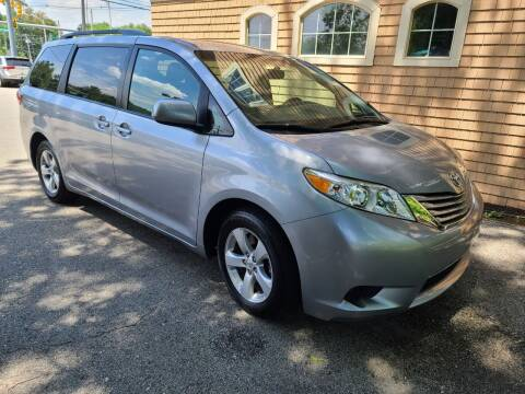 2017 Toyota Sienna for sale at Car and Truck Exchange, Inc. in Rowley MA