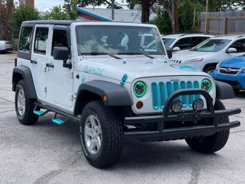 2013 Jeep Wrangler Unlimited for sale at AWESOME CARS LLC in Austin TX