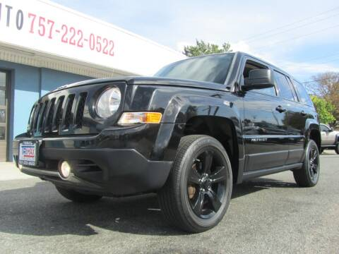 2012 Jeep Patriot for sale at Trimax Auto Group in Norfolk VA